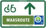 LF Maasroute bordje
